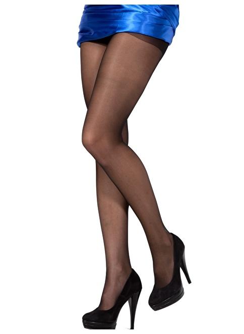 Pierre Cardin Parlak Külotlu Çorap Siyah
